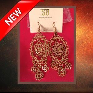 📿 Sugar Chandelier Earrings